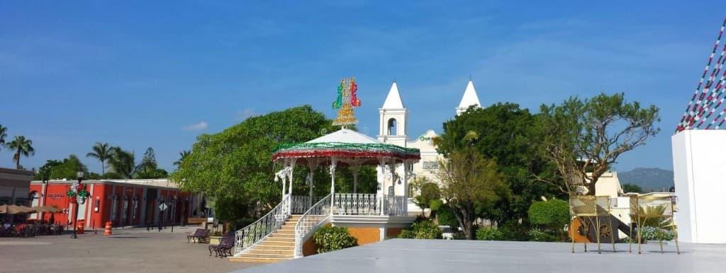 The rotunda in the plaza of San Jose Del Cabo