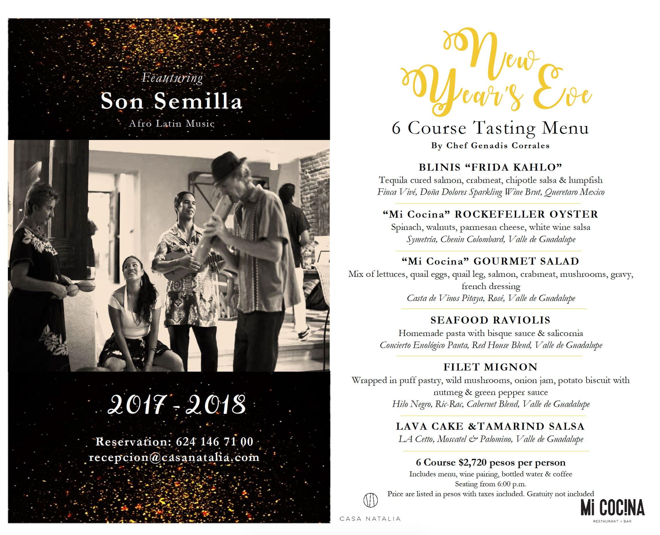 New Year Casa Natalia