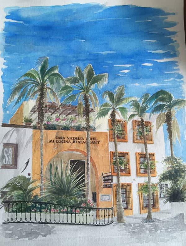 Casa Natalia San Jose del Cabo Drawing